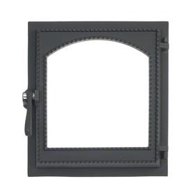 Дверка топочная герметичная «Онего-2» ДТГ-8ВС, 34х37х13 см, со стеклом, термошнур