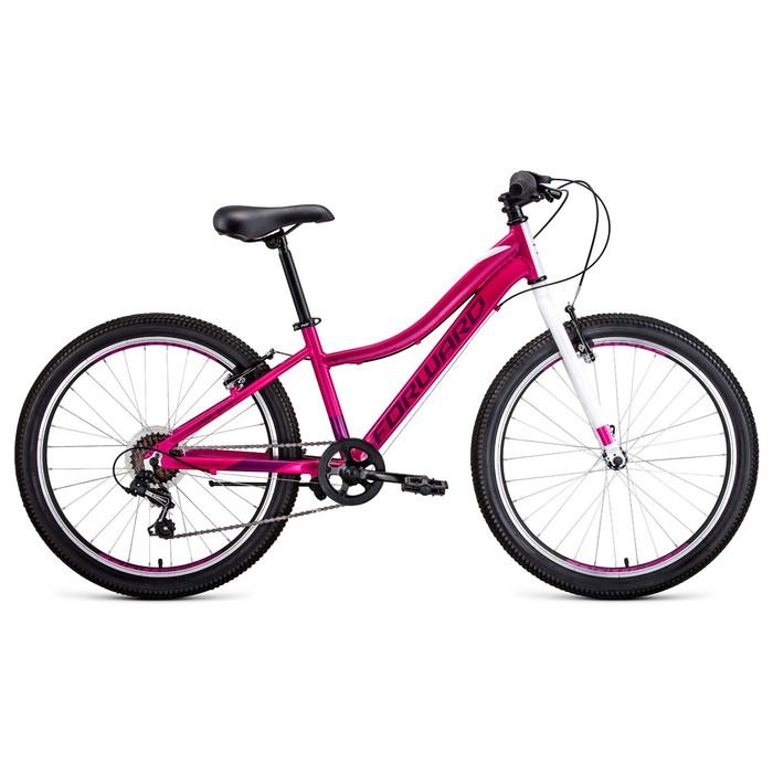 """Велосипед 24"""" Forward Jade 1.0, 2020, цвет розовый, размер 13"""""""