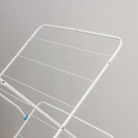 Сушилка напольная 15 м (СБВ2/Б), цвет белый - фото 4635166