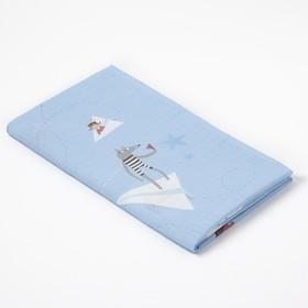 Пеленка «Крошка Я» Бумажные самолеты 75*120 см - фото 7461161