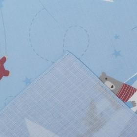Пеленка «Крошка Я» Бумажные самолеты 75*120 см - фото 7461163