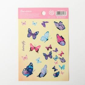 Butterfly stickers, 11 x 16 cm