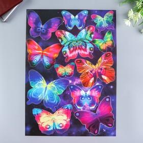 """Наклейки Decoretto """"Таинственные бабочки"""" 35х50 см"""