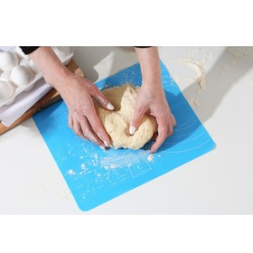 Силиконовый коврик для выпечки «Готовим с любовью», 29 х 26 см