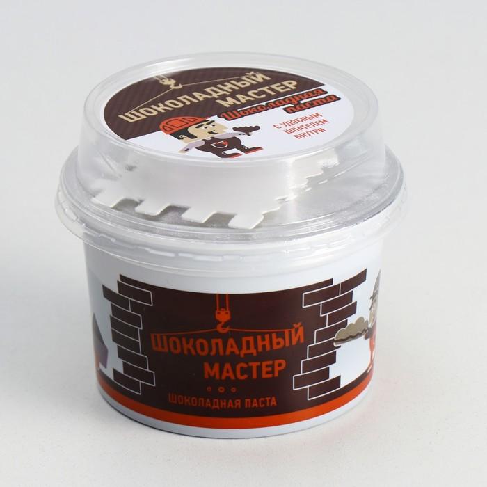Шоколадная паста со шпателем  «Шоколадный мастер» какао 180 гр - фото 15530