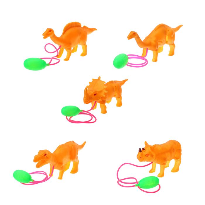 Прыгающие динозавры, виды МИКС