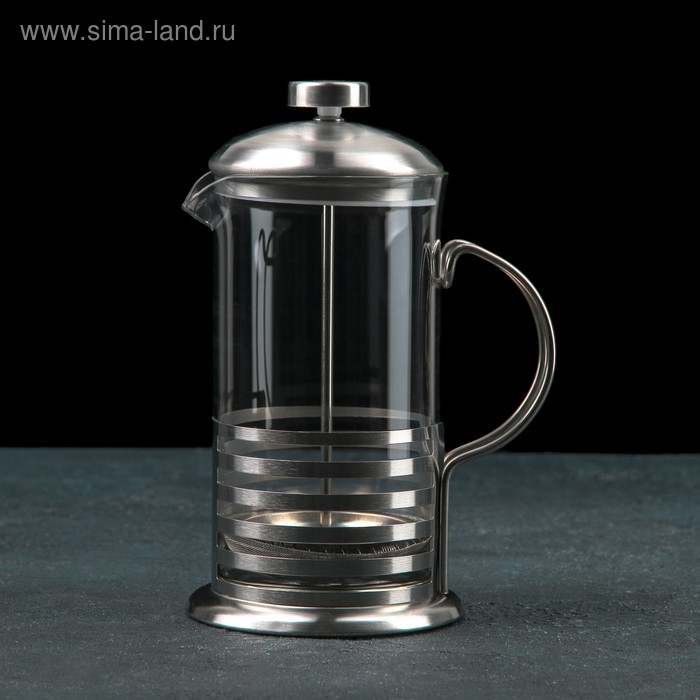 """The French press, """"charm"""", 600 ml"""