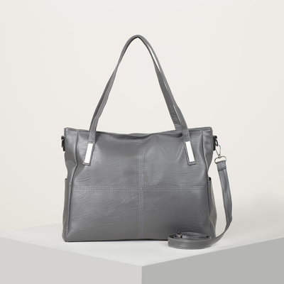 Bag wives L-1200, 39*14*27, otd zipper, no pocket, long strap,gray