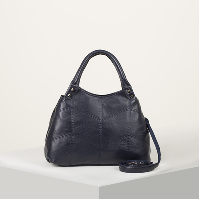 Bag wives L-1882, 31*11*20, 2 otd zip n/a pocket, long strap,blue