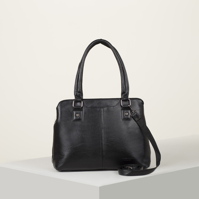 Bag wives L-1894, 33*13*22, otd W with zipper, no pocket, long strap, black
