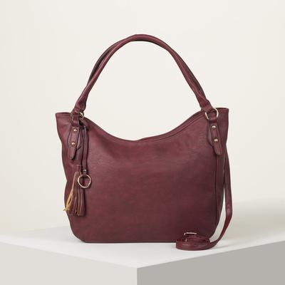 Bag wives L-534, 29*14*27, otd zipper, no pocket, long strap, red