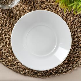 Блюдце Empilable, d=16 см, цвет белый
