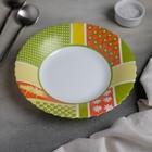 Тарелка суповая Berenice green, d=23 см