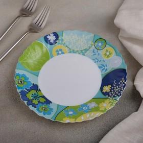 Тарелка десертная Berenice blue, d=19 см
