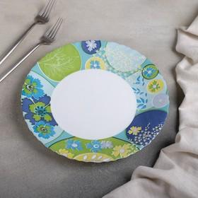 Тарелка обеденная Berenice blue, d=25 см