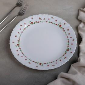 Тарелка обеденная Fraisa rouge, d=25 см