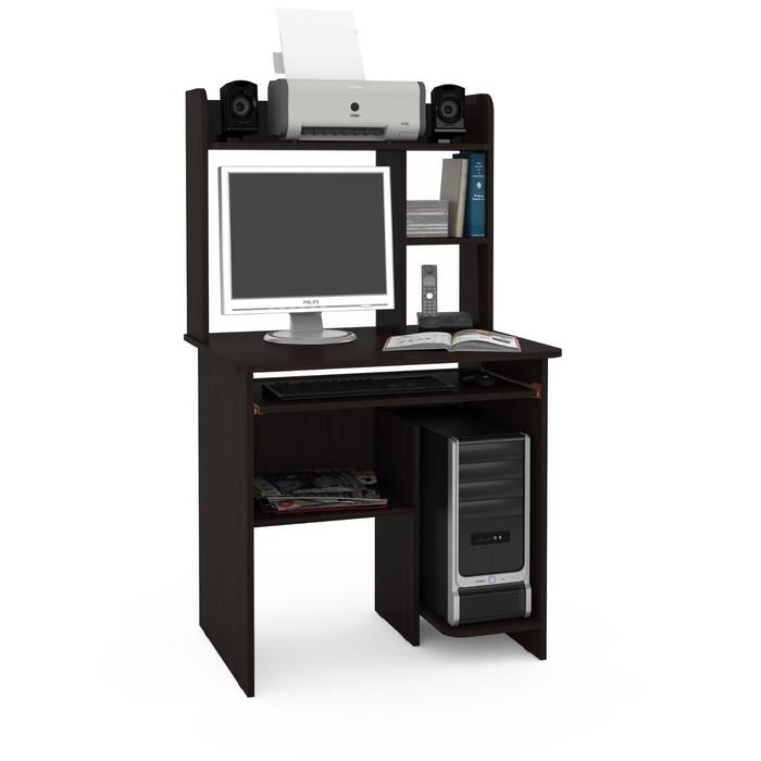 Стол компьютерный Комфорт 3, 804х632х1395, Венге - фото 736968