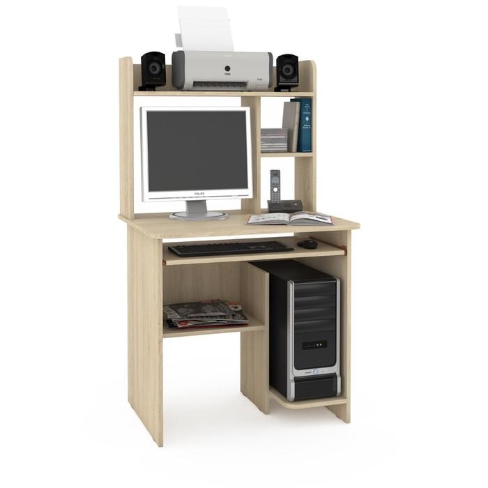 Стол компьютерный Комфорт 3, 804х632х1395, Дуб сонома