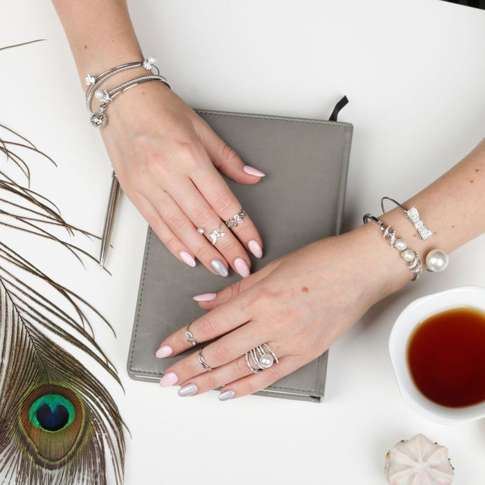 Кольцо на фалангу ''Бабочка'', цвет серебро, размер МИКС 591885