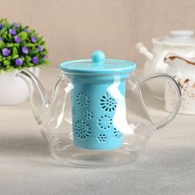 {{photo.Alt || photo.Description || 'Чайник заварочный «Нежность», с керамическим ситом, 700 мл, цвет голубой'}}