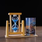 "Clocks ""tower bridge"" with a pencil, 12.5x4.5x9.3 cm"
