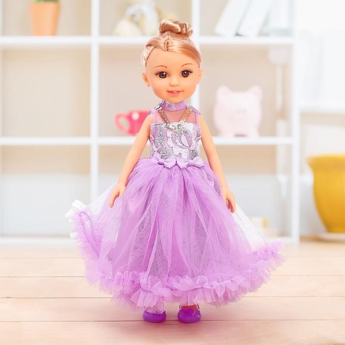 Кукла классическая «Даша» в платье, МИКС - фото 107035573