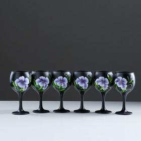 A set of wine glasses iris 6-piece 220 ml