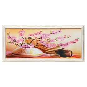 """Картина """"Чайная церемония"""" 50х20 см (53х23 см)"""