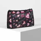 Cosmetic bag ^ Style, 21,5*6*13,5 the division zipper, black