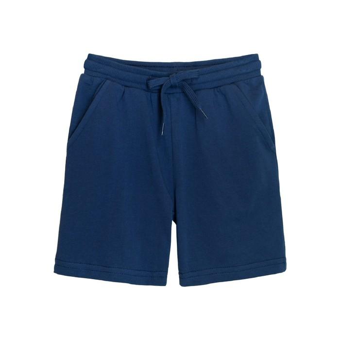 Шорты для мальчика, рост 122, цвет т.джинс
