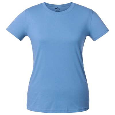 T-shirt women's T-bolka Lady, size S, color blue