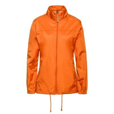 Ветровка женская Sirocco, размер S, цвет оранжевый