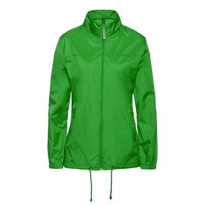 Ветровка женская Sirocco, размер L, цвет зелёное яблоко