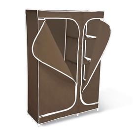 Вешалка-гардероб с чехлом 2016, 1050x450x1600,темно-корич.