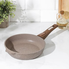 Frying pan Granite brown 22cm AP removable a pen