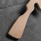 """Сувенирное деревянное оружие """"Автомат Томсон"""", 70 см, массив бука - фото 105640909"""