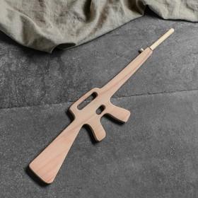 """Сувенирное деревянное оружие """"Винтовка М-16"""", 80 см, массив бука"""