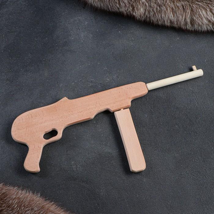 """Сувенирное деревянное оружие """"Автомат МР-40"""", 50 см, массив бука"""