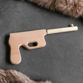 """Сувенир деревянный """"Маузер"""", 30 см, массив бука"""