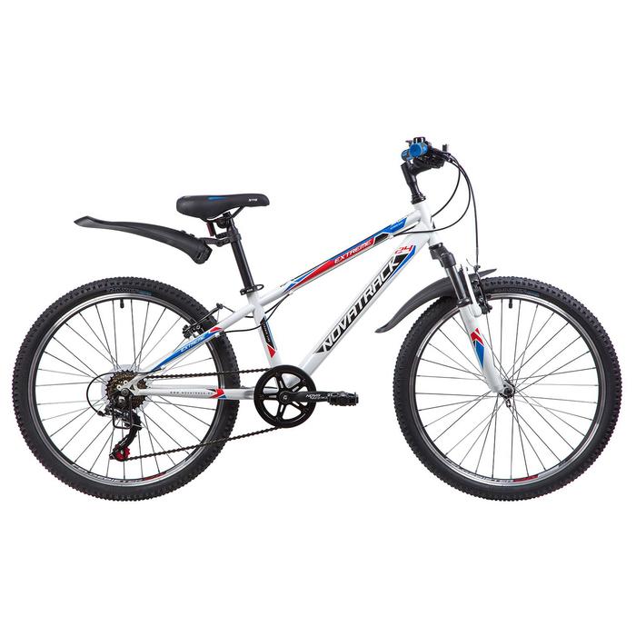"""Велосипед 24"""" Novatrack Extreme,2019, цвет белый, размер 10"""""""