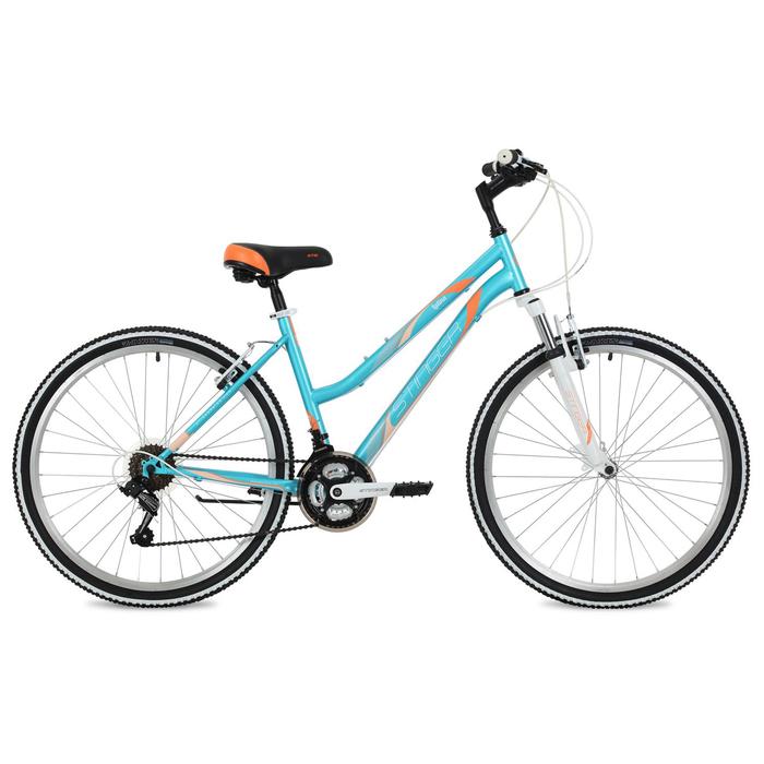 """Велосипед 26"""" Stinger Latina, цвет синий, размер 17"""""""