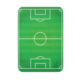 Накладка на стол пластик А4, 330 х 230 мм, 400 мкм «Футбольное поле» Ош