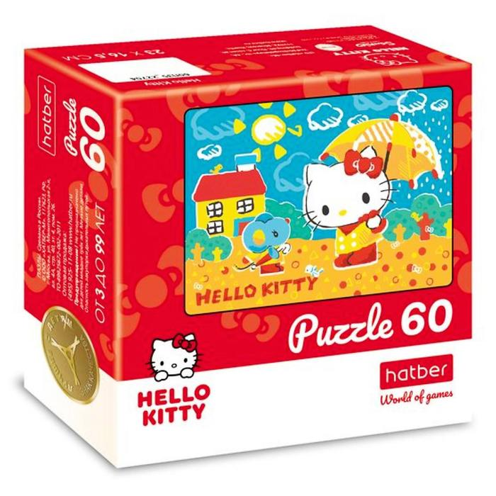 Пазл Hello Kitty, 60 элементов
