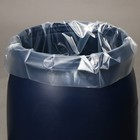 Bag liner in the barrel of 50 litres, 50 x 100 cm, 80 µm (packing 5 PCs)