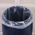 Bag liner in a barrel of 100 liters, 63 x 105 cm, 100 µm (packing 5 PCs)