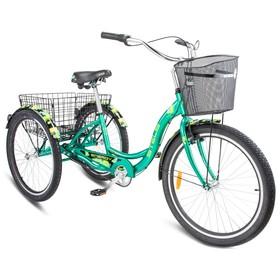 "Велосипед 26"" Stels Energy-III, V030, цвет зелёный, размер 16"""