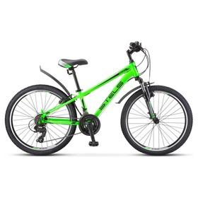 "Велосипед 24"" Stels Navigator-400 V"" F010, цвет зелёный, размер 12"""