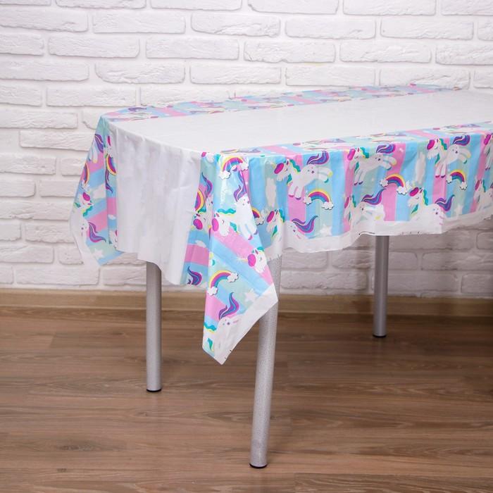 "Tablecloth ""one unicorn's"" 108х180 cm"