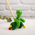 "Children's library on a stick ""Animals with feet"" 8х11х50 MIX"