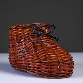 """Souvenir """"Boot"""", 9×14×8.5 cm, vine"""